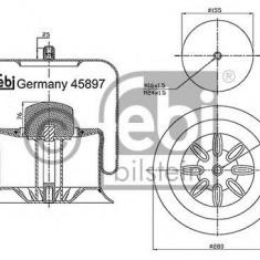Burduf, suspensie pneumatica - FEBI BILSTEIN 45897