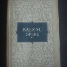 HONORE DE BALZAC - OPERE vol. 2 - Roman, Anul publicarii: 1956