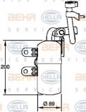 Uscator,aer conditionat VOLVO C70 II Cabriolet D3 - HELLA 8FT 351 335-101