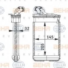 Schimbator caldura, incalzire habitaclu BMW 3 Compact 316 i - HELLA 8FH 351 311-301 - Sistem Incalzire Auto