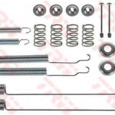 Set accesorii, sabot de frana NISSAN NAVARA pick-up 2.4 i 4WD - TRW SFK378