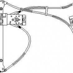 Mecanism actionare geam VW POLO 55 1.3 - TOPRAN 111 708 - Macara geam