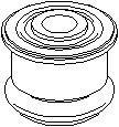 Suport, cadru auxiliar/suport agregate OPEL ZAFIRA A 1.6 16V - TOPRAN 206 994