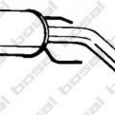Toba esapamet intermediara OPEL ZAFIRA A 1.6 16V - BOSAL 285-423 - Toba finala auto