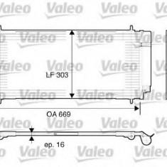 Condensator, climatizare PEUGEOT 407 limuzina 2.0 - VALEO 817740 - Radiator aer conditionat