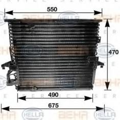 Condensator, climatizare BMW 3 limuzina 316 i - HELLA 8FC 351 035-031 - Radiator aer conditionat