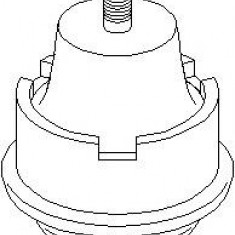 Suport motor CITROËN AX 15 D - TOPRAN 720 191 - Suporti moto auto