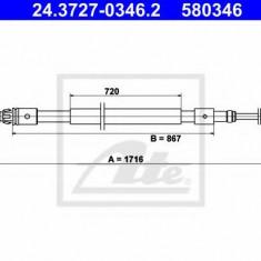 Cablu, frana de parcare CITROËN C3 I 1.1 i - ATE 24.3727-0346.2