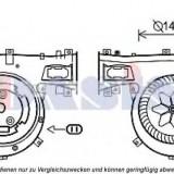Ventilator, habitaclu OPEL SIGNUM 2.2 direct - AKS DASIS 740866N