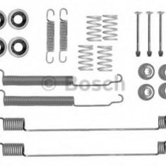 Set accesorii, sabot de frana NISSAN NAVARA 2.4 i 4WD - BOSCH 1 987 475 308