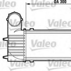 Intercooler, compresor PEUGEOT 607 limuzina 2.2 HDI - VALEO 817437 - Intercooler turbo