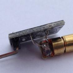 Laser sensor module 650nm 6mm 5V 5mW / senzor laser Arduino KY-008