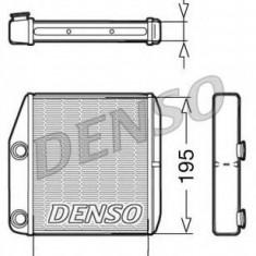Schimbator caldura, incalzire habitaclu FIAT PUNTO 1.2 - DENSO DRR09075 - Sistem Incalzire Auto
