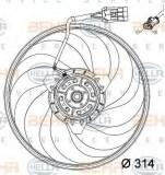 Ventilator,aer conditionat OPEL VITA C 1.0 - HELLA 8EW 351 034-421