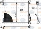 Condensator, climatizare MERCEDES-BENZ G-CLASS 290 GD/G 290 D - HELLA 8FC 351 301-501