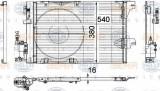 Condensator, climatizare OPEL ASTRA G hatchback 1.2 16V - HELLA 8FC 351 301-241