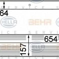 Intercooler, compresor NISSAN DUALIS 1.5 dCi - HELLA 8ML 376 746-601 - Intercooler turbo
