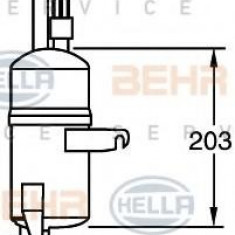 Uscator, aer conditionat FORD KA 1.3 i - HELLA 8FT 351 335-131