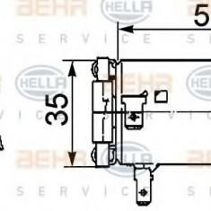 Rezistor, ventilator habitaclu DAF XF 95 FA 95.380 - HELLA 9ML 351 029-381 - Motor Ventilator Incalzire