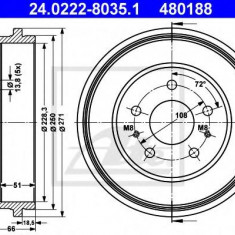 Tambur frana FORD FOCUS II 1.4 - ATE 24.0222-8035.1 - Saboti frana auto