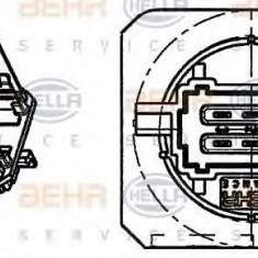 Rezistor, ventilator habitaclu PEUGEOT 206 hatchback 1.1 i - HELLA 9ML 351 332-271 - Motor Ventilator Incalzire