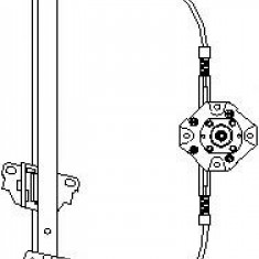 Mecanism actionare geam OPEL MONZA E 1.2 - TOPRAN 200 035 - Macara geam