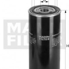 Filtru hidraulic, cutie de viteze automata - MANN-FILTER WD 724/5