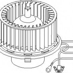 Electromotor, ventilatie interioara SEAT IBIZA Mk II 1.9 SDI - TOPRAN 111 353 - Motor Ventilator Incalzire