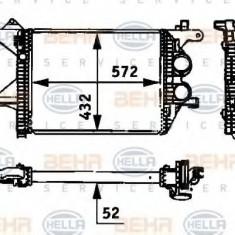 Intercooler, compresor MERCEDES-BENZ VARIO caroserie inchisa/combi 813 DA, 814 DA 4x4 - HELLA 8ML 376 723-781 - Intercooler turbo