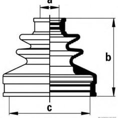 Ansamblu burduf, articulatie planetara SUBARU LEGACY Mk III combi 2.5 AWD - HERTH+BUSS JAKOPARTS J2867013 - Burduf auto