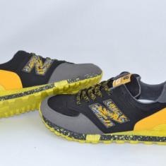New Balance 574 model nou 2016 - Adidasi barbati New Balance, Marime: 37, 41, 43, Culoare: Negru, Textil