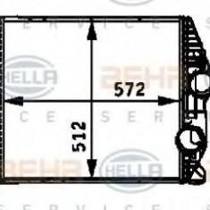 Intercooler, compresor MERCEDES-BENZ ATEGO 712 - HELLA 8ML 376 724-261 - Intercooler turbo