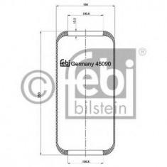 Burduf, suspensie pneumatica - FEBI BILSTEIN 45090