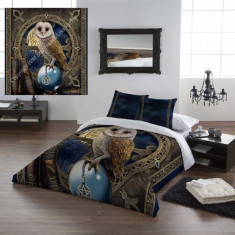 Set lenjerie de pat din bumbac Păstrătoarea vrăjilor 200x200