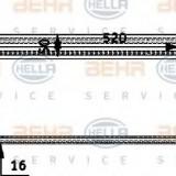 Radiator racire ulei, sistem directie BMW 5 limuzina 530 d - HELLA 8MO 376 726-331