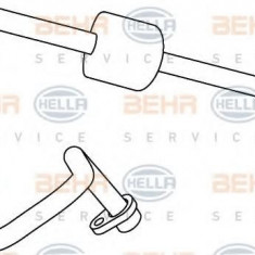 Conducta presiune variabila, aer conditionat PEUGEOT 407 limuzina 2.0 HDi 135 - HELLA 9GS 351 337-711 - Furtunuri aer conditionat auto
