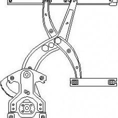 Mecanism actionare geam VW PASSAT 1.6 - TOPRAN 103 591 - Macara geam
