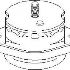 Suport, transmisie manuala VW TRANSPORTER / CARAVELLE Mk IV bus 2.4 D Syncro - TOPRAN 107 403 - Tampon cutie viteze
