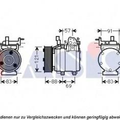 Compresor, climatizare HYUNDAI SATELLITE 2.5 CRDi - AKS DASIS 851949N - Compresoare aer conditionat auto KLOKKERHOLM