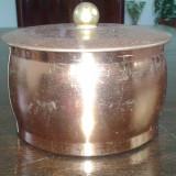 Cutie veche de cafea cu reclama MAX HERZ Tchibo