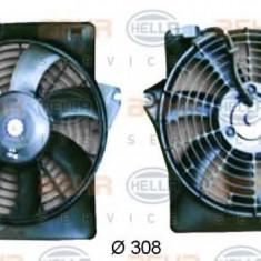 Ventilator, aer conditionat HYUNDAI LAVITA 1.5 CRDi - HELLA 8EW 351 034-591 - Radiator aer conditionat