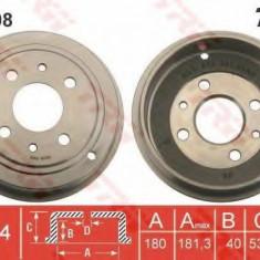 Tambur frana FIAT PANDA 1.2 - TRW DB4398 - Saboti frana auto