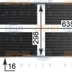 Condensator, climatizare FIAT PUNTO 1.3 D Multijet - HELLA 8FC 351 304-724 - Radiator aer conditionat