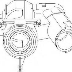 Blocaj volan AUDI 4000 1.3 - TOPRAN 102 413 - Incuietoare interior - exterior