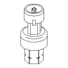 Comutator presiune, aer conditionat OPEL CORSA D 1.4 - TOPRAN 207 540