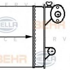 Schimbator caldura, incalzire habitaclu AUDI 50 1.1 - HELLA 8FH 351 313-341 - Sistem Incalzire Auto