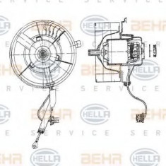 Ventilator, habitaclu SEAT IBIZA Mk II 1.9 SDI - HELLA 8EW 009 158-111 - Motor Ventilator Incalzire