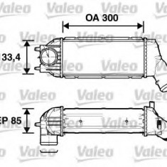 Intercooler, compresor PEUGEOT 307 2.0 HDi 135 - VALEO 817638 - Intercooler turbo