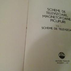 Scheme de televizoare, magnetofoane, picupuri I - M. Silisteanu, Ion Presura
