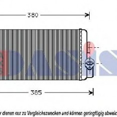 Schimbator caldura, incalzire habitaclu MERCEDES-BENZ T2/LN1 caroserie inchisa/combi 507 D - AKS DASIS 139450N - Aripa auto KLOKKERHOLM